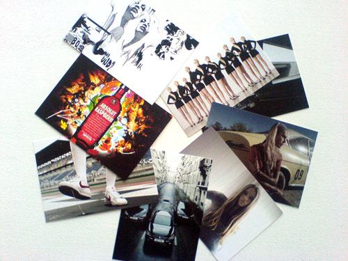 Setcards Anja Wiroth