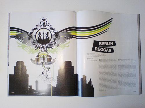 XLR8R 101 illustration editorial