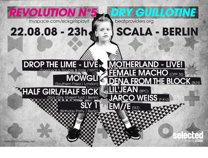 Revolution Nº5 meets Dry Guillotine