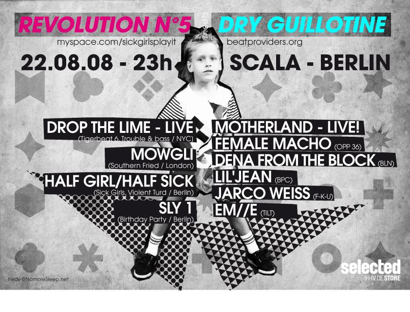 Revolution Nº5 meets Dry Guillotine